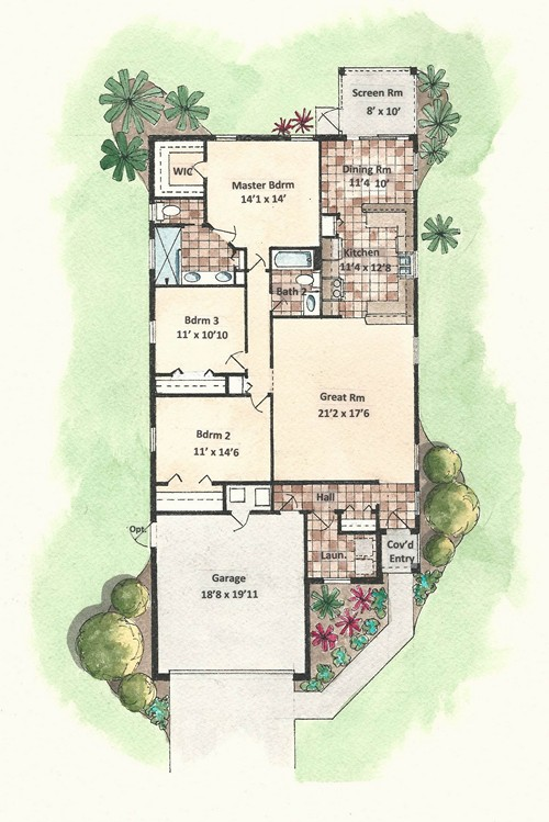 Briarcliff - Floor Plan