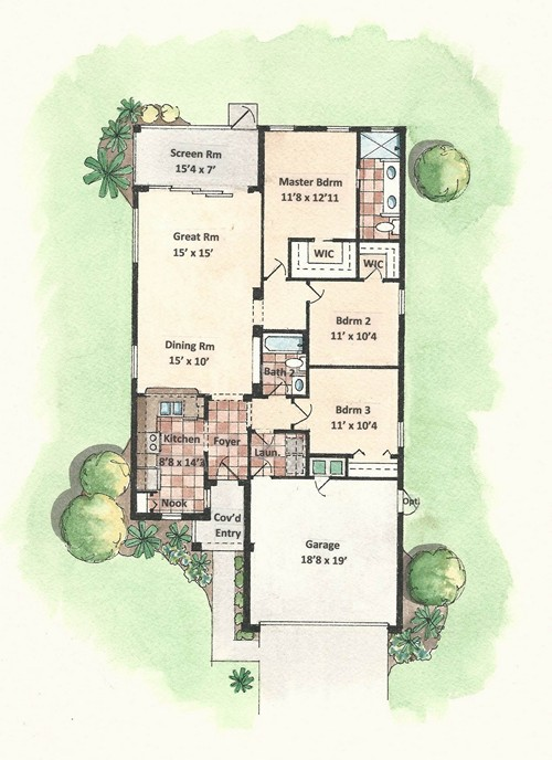 Hartford - Floor Plan