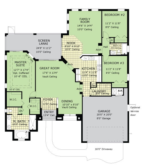 Scarsborough - Floor Plan