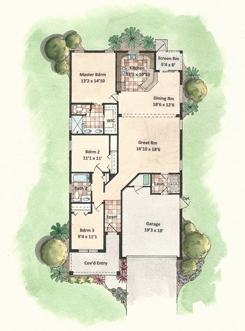 Wildwood - Floor Plan