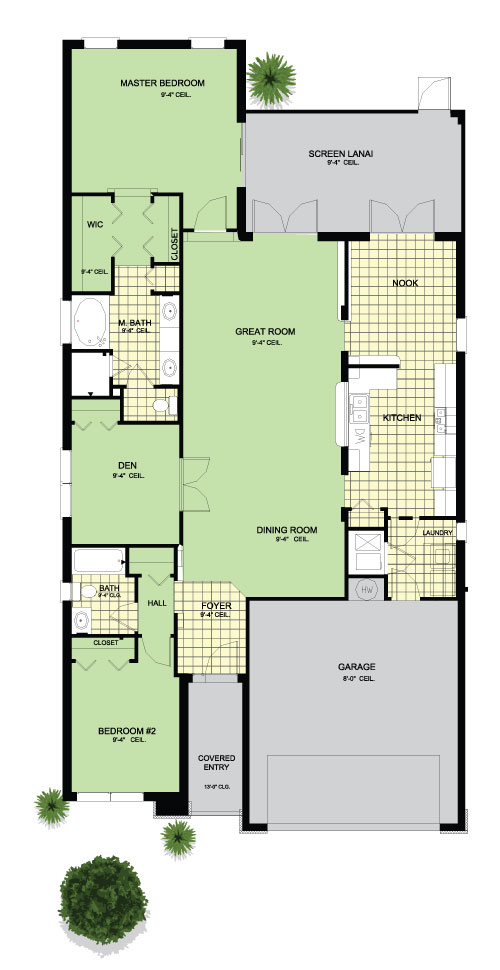 Tantallon - Floor Plan