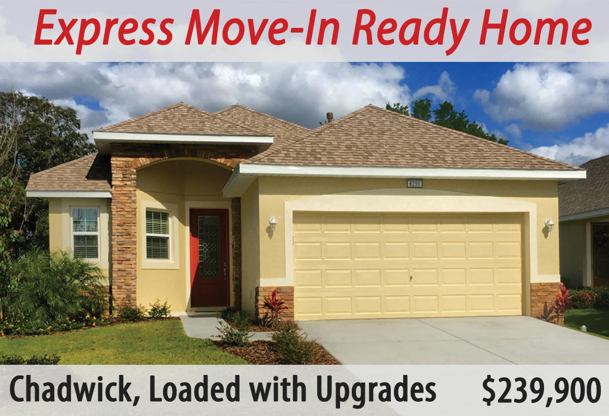 Express Move-In Ready Chadwick Model