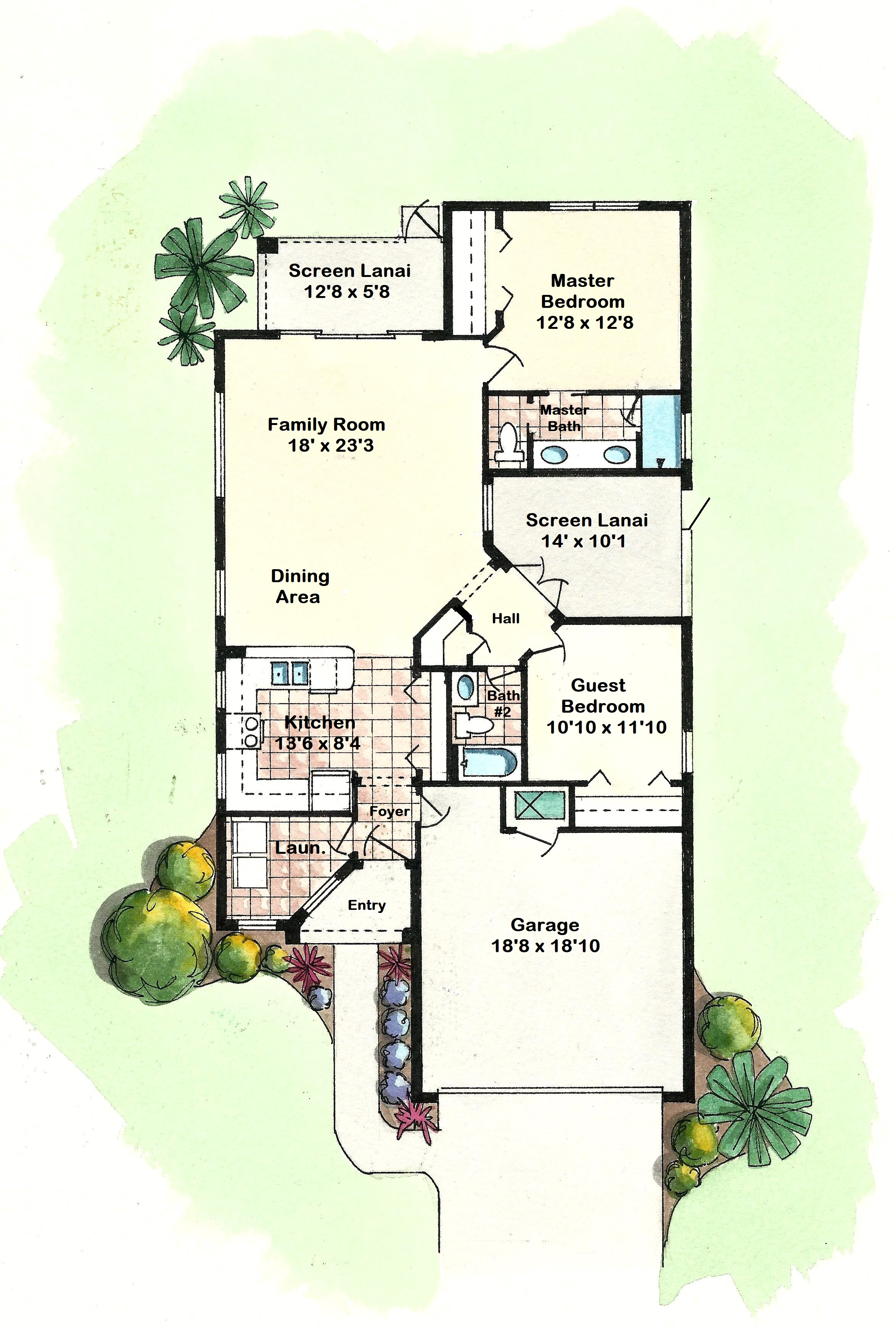 Clayton - Floor Plan